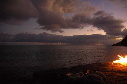 sunset golden vi virginislands
