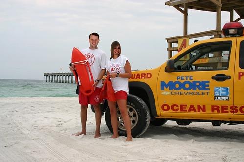 Beach Guard, Tom & Veronica