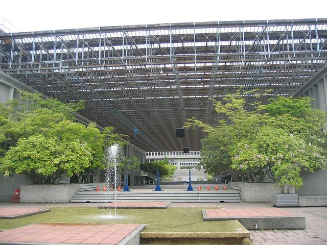 Simon Fraser University, Convocation Mall