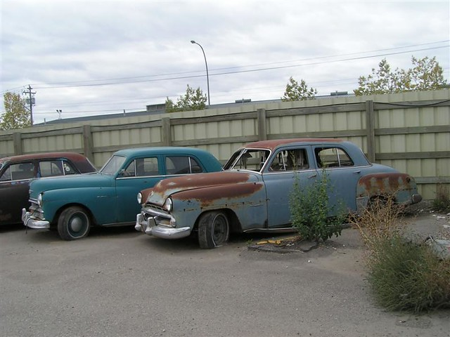 51-52 Dodge and 50 Plymouth