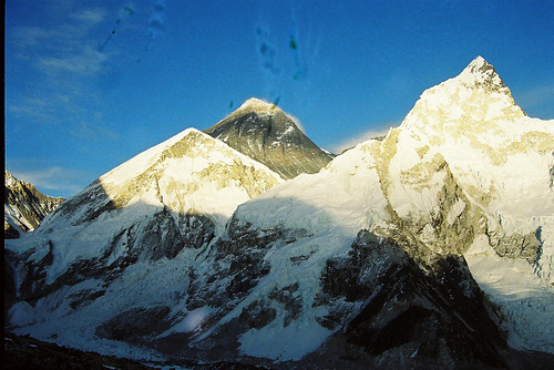 Sunset at Mt. Everest