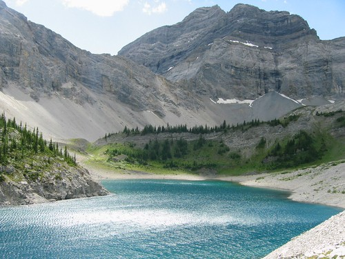 Galatea Lake, Rocky Mountains, Alberta