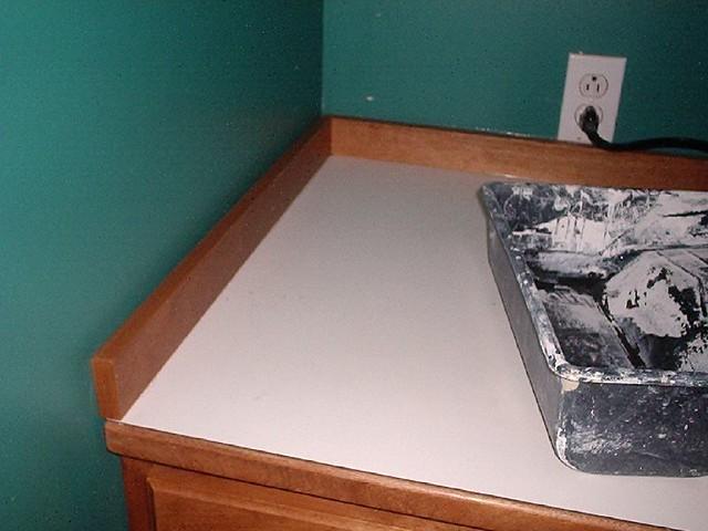 Caulking Kitchen Backsplash Wall