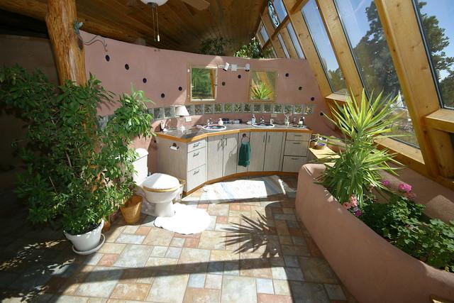 Black Forest passive solar tire house | Flickr - Photo ...