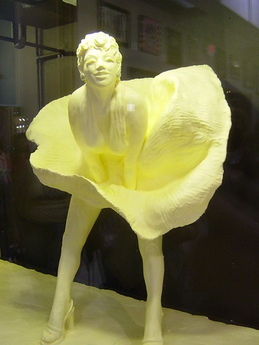 Marilyn Monroe -- in Butter