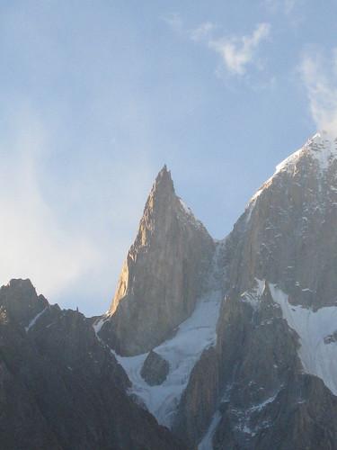 Ladyfinger peak, 6000m