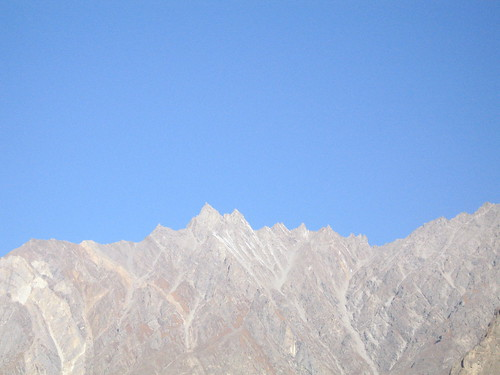 Shark's teeth peaks in the Karakoram, from Duikar viewpoint