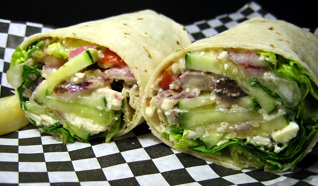Pub's Greek Sandwich Wrap | Flickr - Photo Sharing!