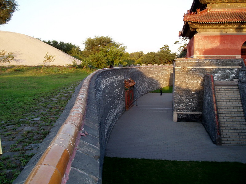 Abahai's Tomb (on the left), Shenyang