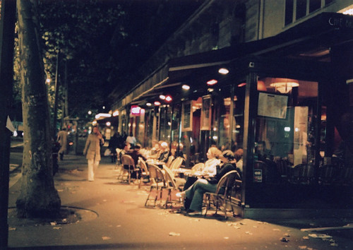 paris night, the first shot