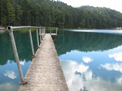 reservoir, water, lake, reflection, waterway, infrastructure,
