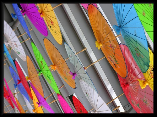 colorfull ceiling