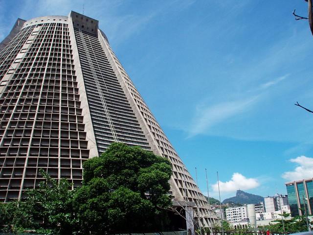 La Catedral Metropolitana de Río de Janeiro. Brasil