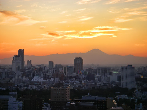 Mt. Fuji at Sunset