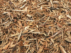 straw, wood, mulch,