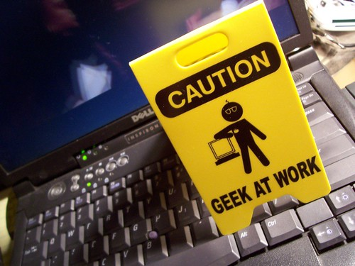 Geek at Work! - Photo-A-Day Nov 13, 2006