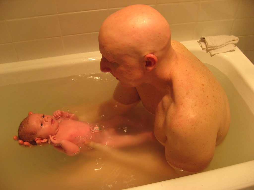 Bath Time with Dad - a photo on Flickriver