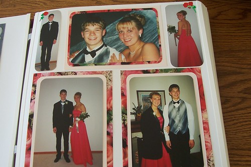 Scrapbooking Page of Prom