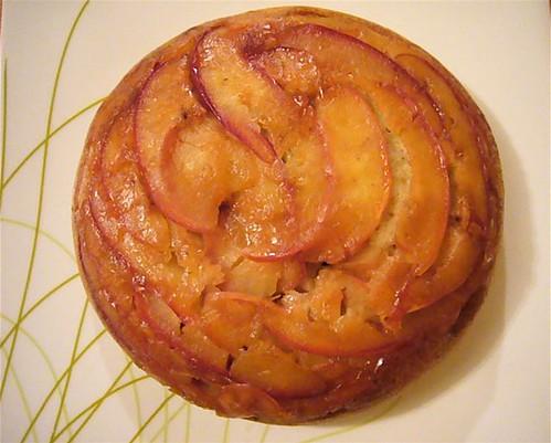 Spiced apple tea cake