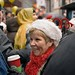 A Spiral Santa Hat and a Starbucks Coffee - MDPNY20061125