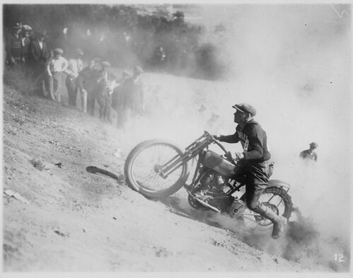 Hill-Climb Action -- 1924 by RV Bob