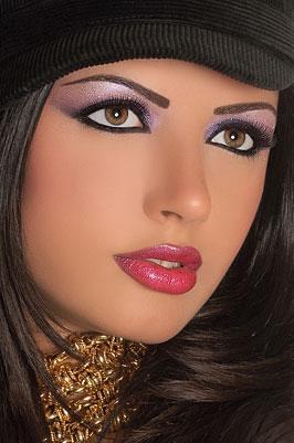 Красивый вечерний макияж для зеленых глаз фото