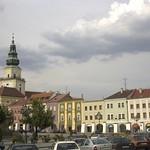 Main Square in Kromeriz, Czech Republic
