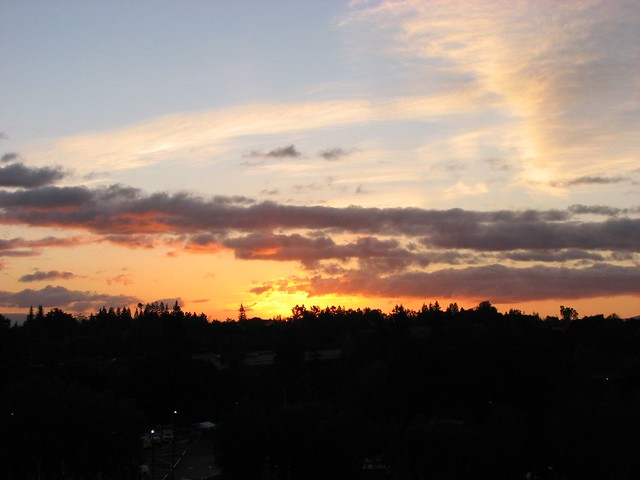 Sunrise from Foothill College
