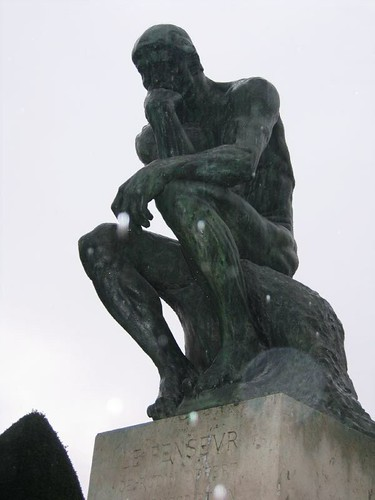 Rodin's the Thinker by kitamaria99