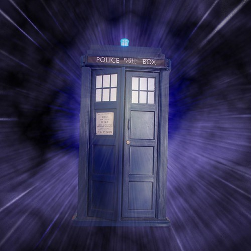 Like the TARDIS, your time machine has a fault.