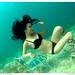 Bebe Pham underwater by mgleiss