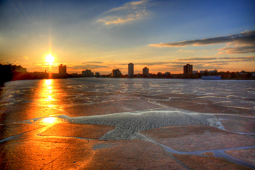 Boston is melting