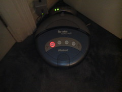 a thirsty Roomba