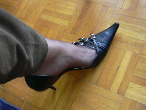 Nylon Toe Cleavage 32