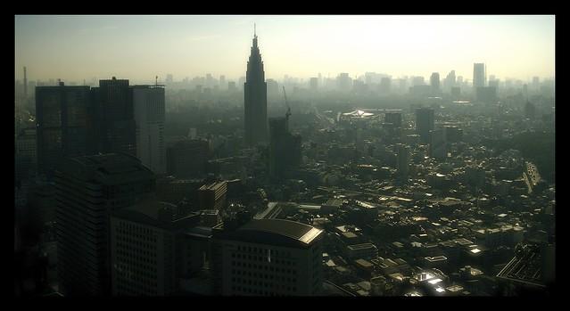 Smog of Shinjuku