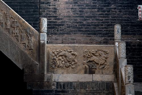 王荩廷老宅楼梯