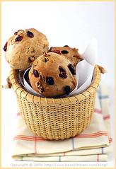 Cranberry Walnut Bread Rolls — Petits pains aux noix et canneberges