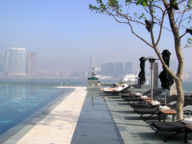 Four Seasons Hong Kong Amazing Pool A Photo On Flickriver