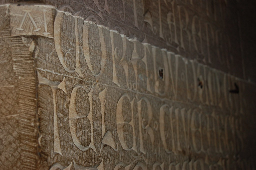 Lombard Lettering in Strasbourg Cathedral 4.JPG