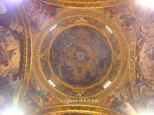 Cupola of Chiesa del Gesù