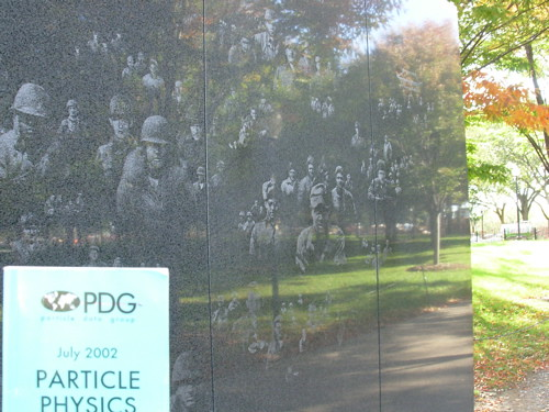 PDG at the Korean War Memorial