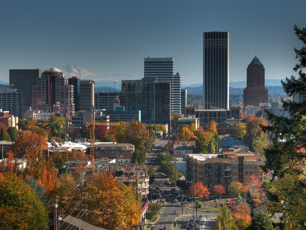 Image result for Fall Pictures in the Downtown Portland Oregon