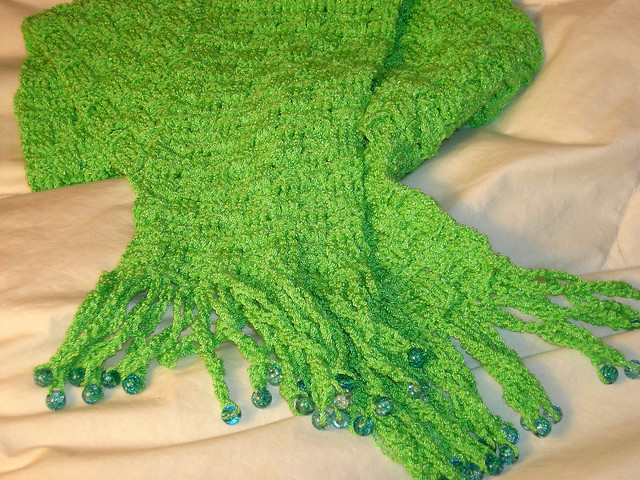 How To Do A Basket Weave Knit : Basketweave crochet scarf for beginners