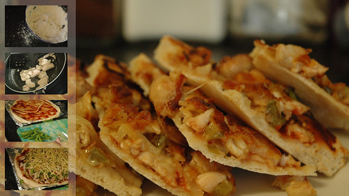 Chicken and Cashew Pizza