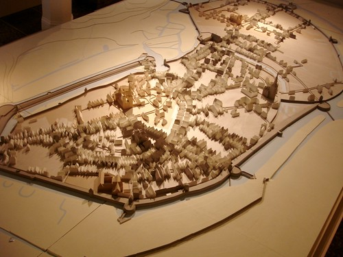 Stadtmodell Osnabrück , Zustand 1644