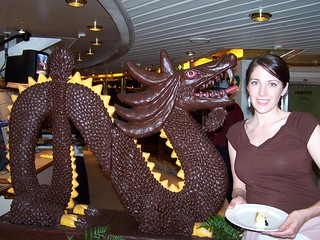 Chocolate Dragon and Heather