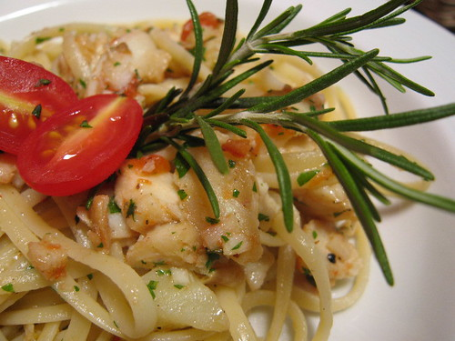 Linguine with Baccala and Potatoes