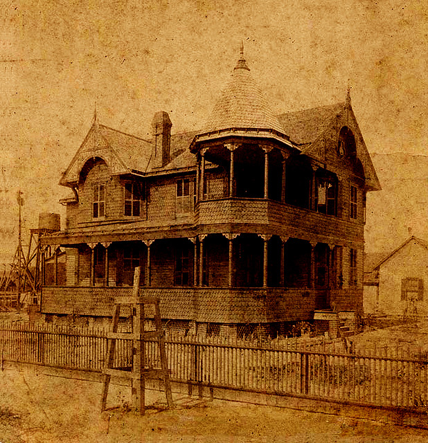 The Pritchard House, Shown ca. 1895