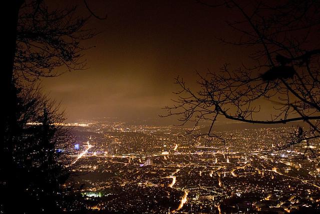 Zurich from Uetliberg