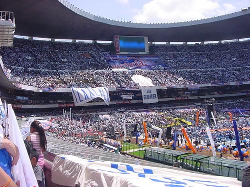 Estadio azteca a photo on flickriver for Puerta 1 estadio azteca